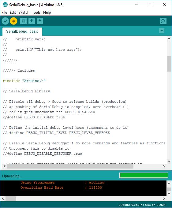 Better Debugging for Arduino IDE: SerialDebug Library | Random Nerd