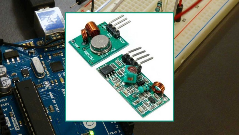 RF 433MHz Transmitter/Receiver Module With Arduino | Random