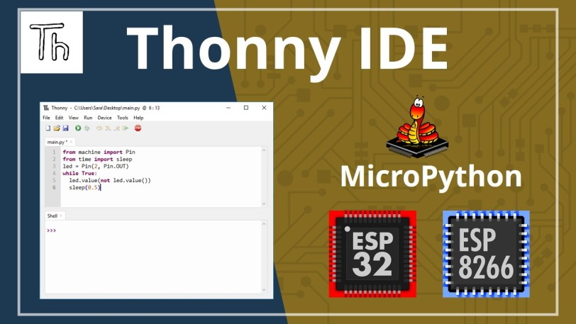 Getting Started with Thonny MicroPython (Python) IDE for