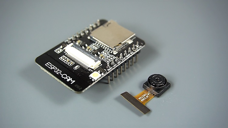 ESP32-CAM board is a $9 device with an OV2640 camera, microSD card slot and several GPIO pins