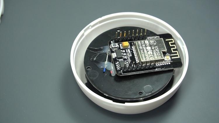 Fake dummy camera with ESP32-CAM AI Thinker Module Inside IP Camera CAM web server