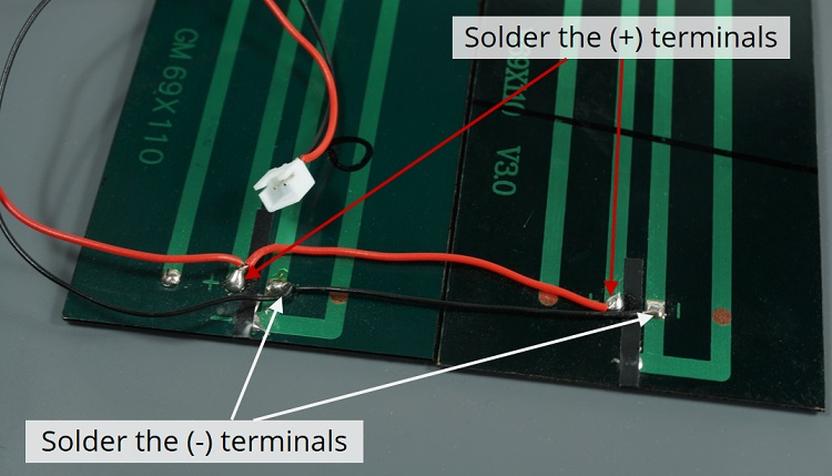Power ESP32 ESP8266 Solar Panels Circuit