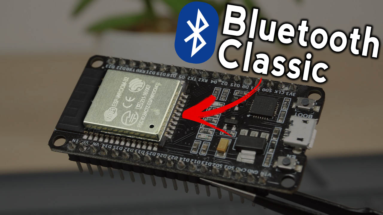 ESP32 Bluetooth Classic and Android Smartphone BT