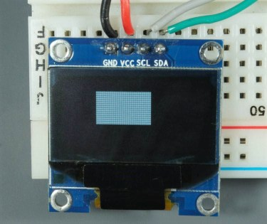 ESP32 ESP8266 Arduino OLED Display Filled