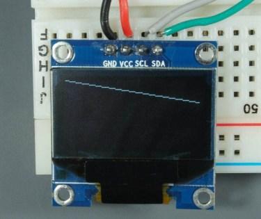 ESP32 ESP8266 Arduino OLED Display Line