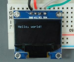 ESP32 ESP8266 Arduino OLED Display font