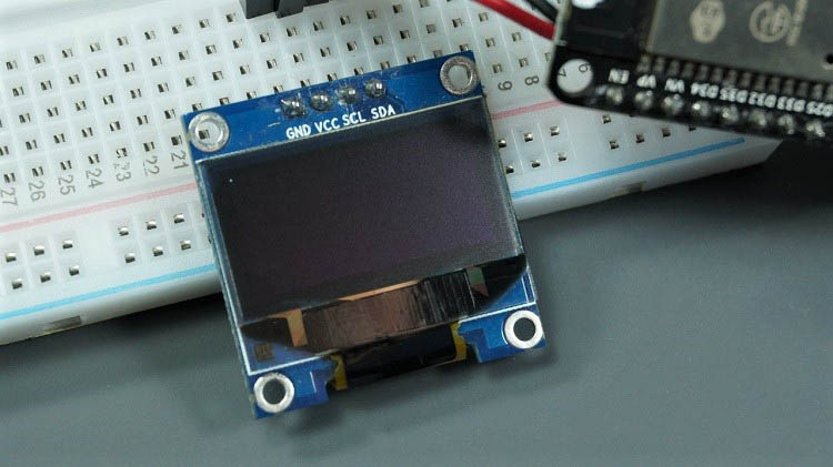 oled display a pixel esp8266 esp32 micropython