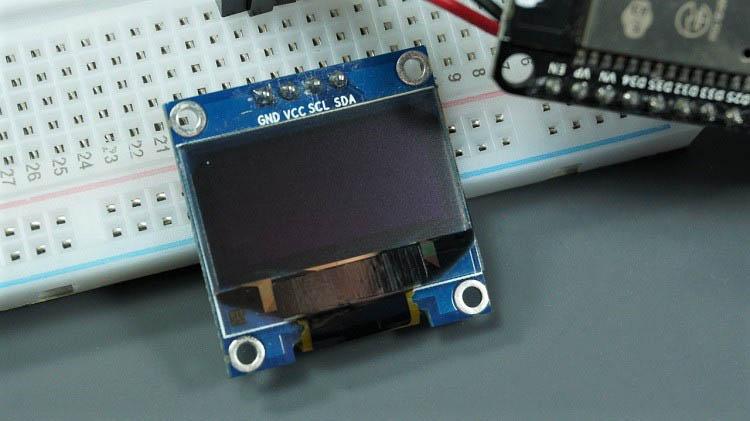 oled display a pixel esp8266 esp32 micropython