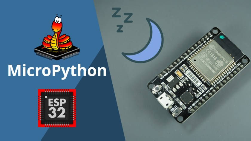 MicroPython Deep Sleep with ESP32 timer wake up external wake up
