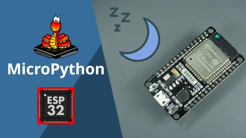 MicroPython Deep Sleep with ESP32 timer wake up external wake up
