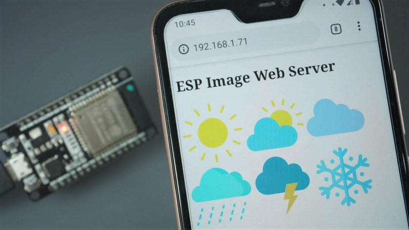 How to Display Images in ESP32/ESP8266 Web Server