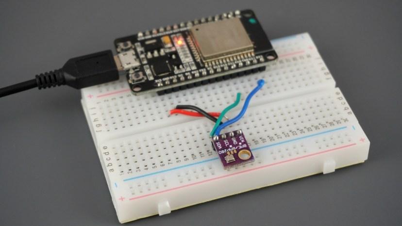 ESP32 with BME280 Sensor using Arduino IDE Pressure, Temperature, and Humidity