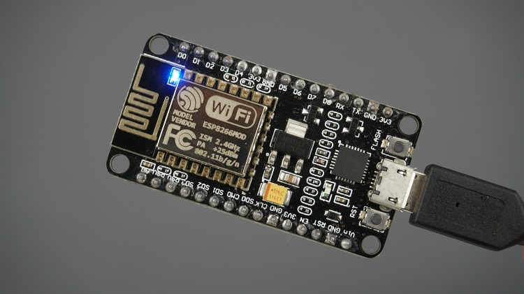 ESP8266 blinking on-board LED (attached to GPIO 2) using Millis