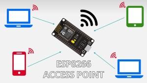 ESP8266 NodeMCU Access Point AP for Web Server