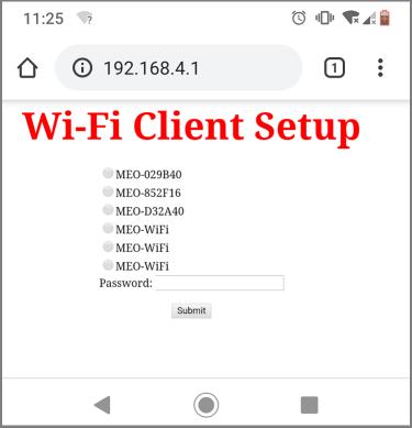 Wi-Fi Client Setup WiFi Manager MicroPython