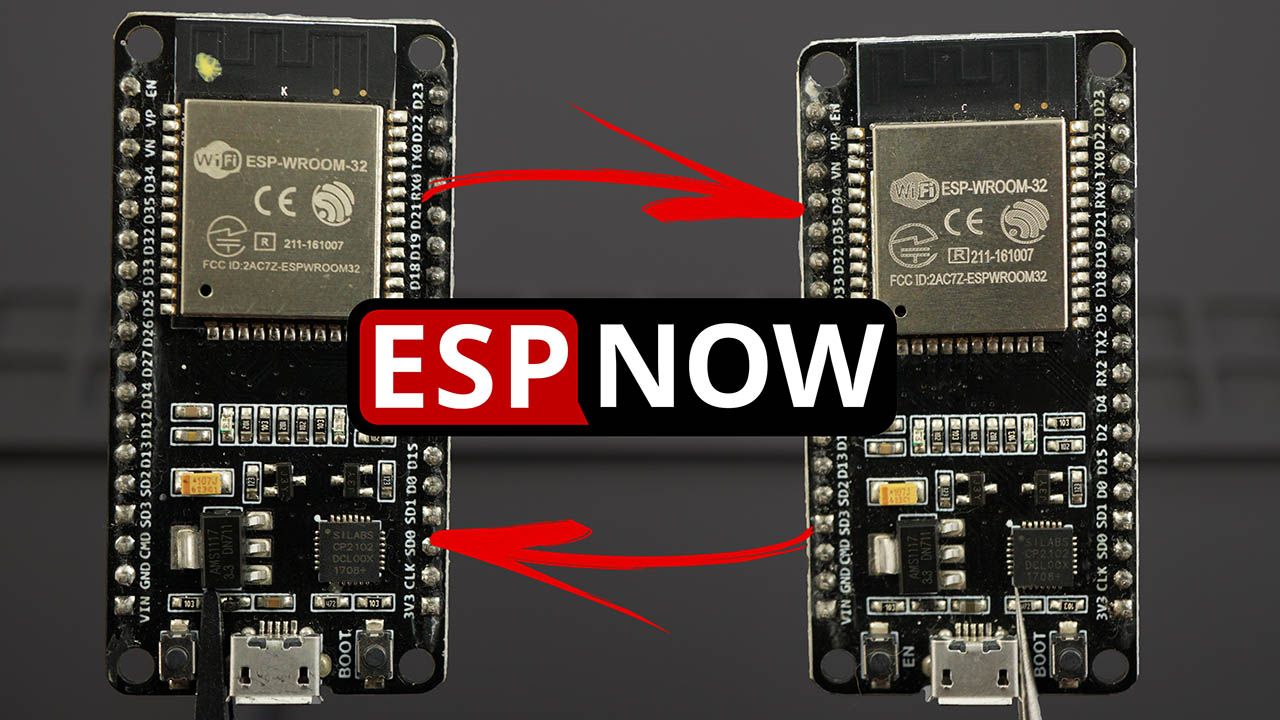 ESP-NOW Two-Way Communication Between ESP32 Boards
