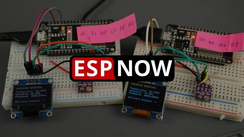 ESP-NOW Two-Way Communication Between ESP32 Boards