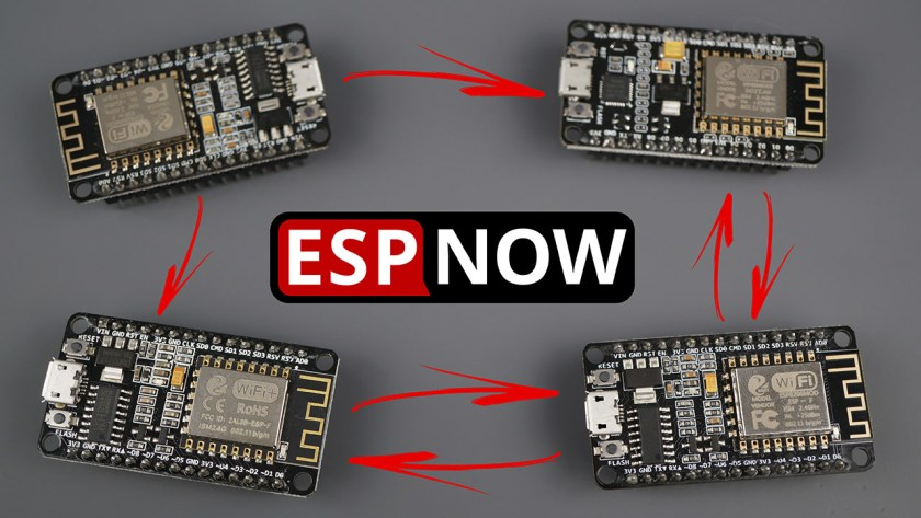 Getting Started with ESP-NOW ESP8266 NodeMCU with Arduino IDE