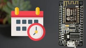 ESP8266 NodeMCU NTP Client-Server: Get Date and Time Arduino IDE