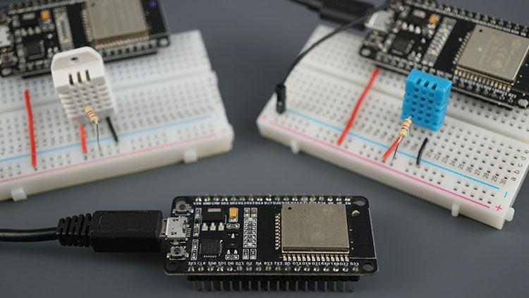ESP32 ESP-NOW Web Server Sensor Dashboard ESP-NOW and Wi-Fi Demonstration Sensor Readings