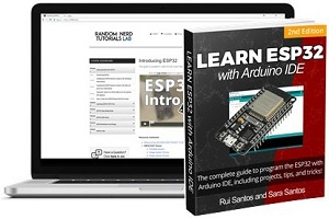 Learn ESP32 with Arduino IDE 2nd Edition Rui Santos and Sara Santos ebook video course small