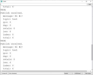 ESP32 ESP8266 NodeMCU Subscribed to MQTT topic Receive MQTT message Cloud MQTT broker