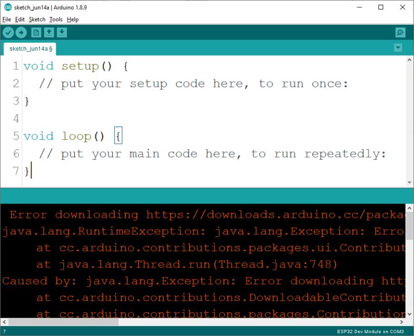 Solved Arduino IDE Installation Error downloading ESP32 ESP8266 NodeMCU