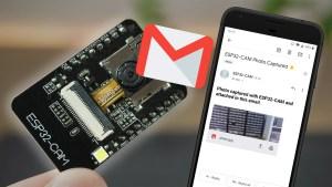 ESP32-CAM Take and Send Photos via Email using an SMTP Server Arduino IDE