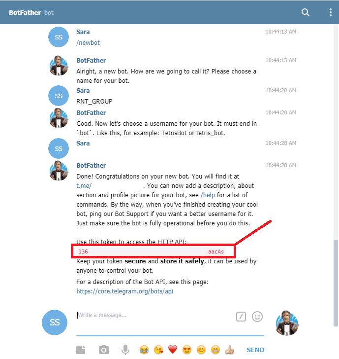 Create a Telegram Bot on Telegram Web App