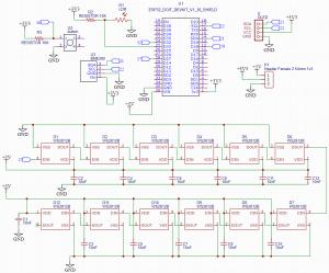 ESP32 PCB Weather Station Interface Circuit Diagram Circuit