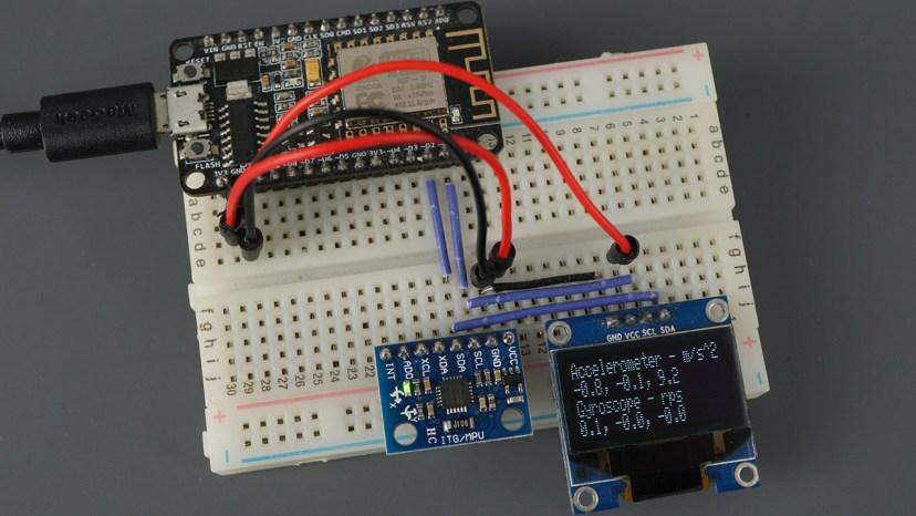 ESP8266 NodeMCU MPU-6050 Module Accelerometer Gyroscope Temperature Sensor Arduino