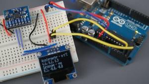 Arduino Board MPU6050 Module Accelerometer Gyroscope Temperature Sensor