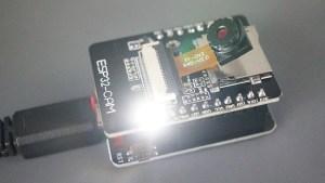 ESP32-CAM-MB Micro USB Programmer CH340G Demonstration Testing