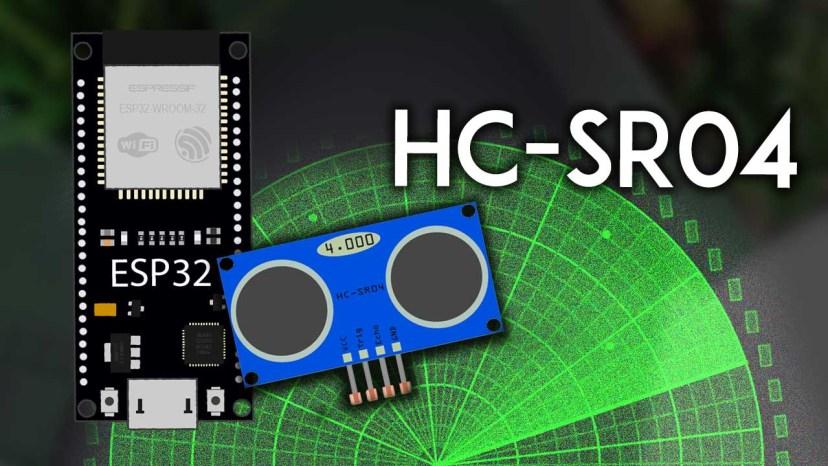 ESP32 with HC-SR04 Ultrasonic Sensor Module with Arduino IDE