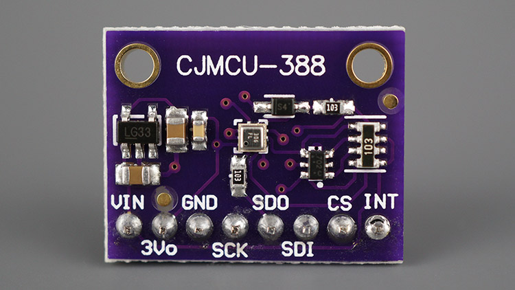 Front Pins BMP388 Sensor Module Altitude Pressure Temperature