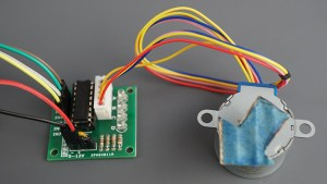 28BYJ-48 connected to ULN2003 Motor Driver 01 module