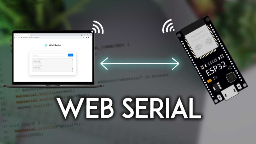 ESP32 WebSerial Web-based Remote Serial Monitor Arduino Core IDE