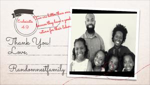 Thank you photo at Randomnestfamily.org