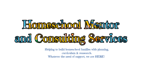 Randomnestfamily.org homeschool mentor and consulting service.