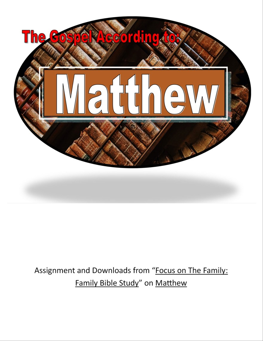 Gospel of matthew @Randomnestfamily.org