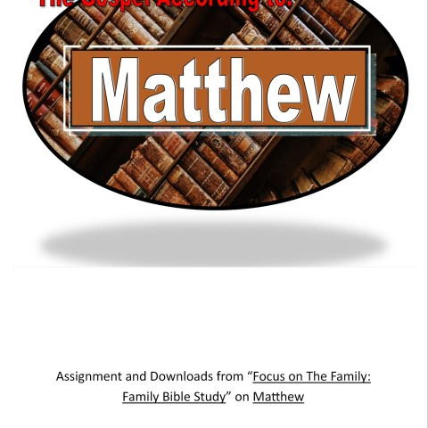 Gospel of matthew @Randomnestfamily.org
