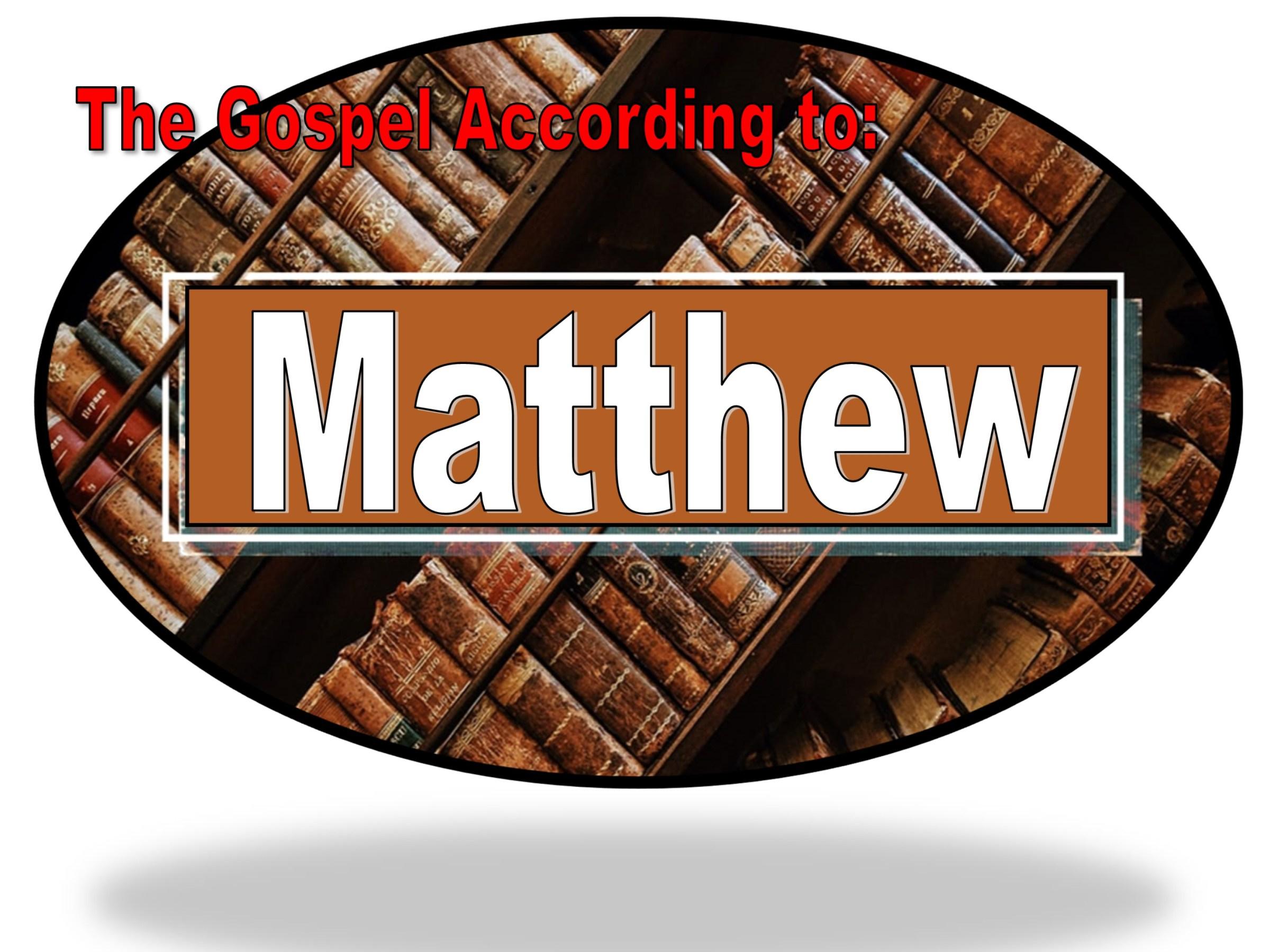 Book of Matthew feature at Randomnestfamily.org