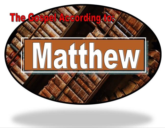 Family Bible Study, Gospel of Matthew Randomnestfamily.org