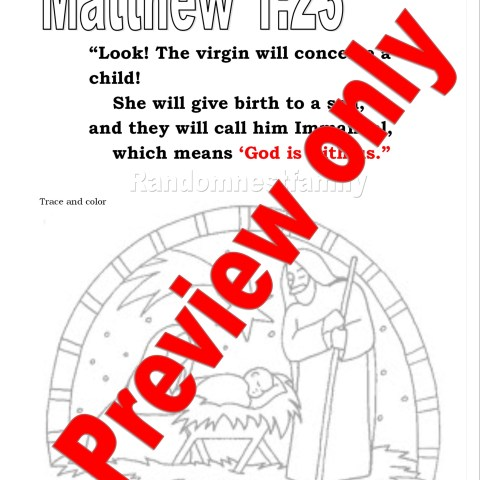 Matthew 1:23 Download preview Randomnestfamily