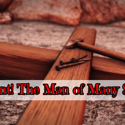 The cross with nails