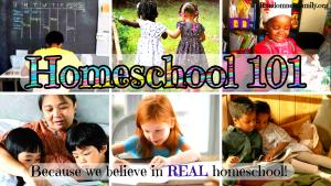 Homeschool 101 @randomnestfamily.org