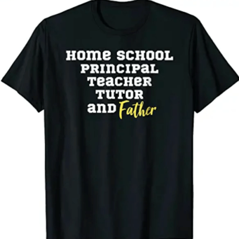 Mens homeschool t-shirt