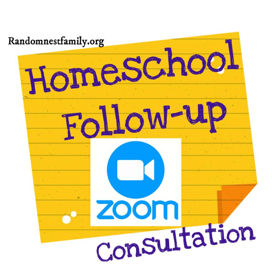 Consultation follow-up @randomnestfamily.org