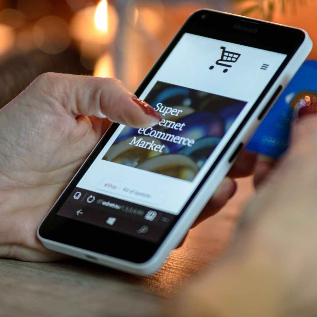 Shopping from your cell phone at Randomnestfamily