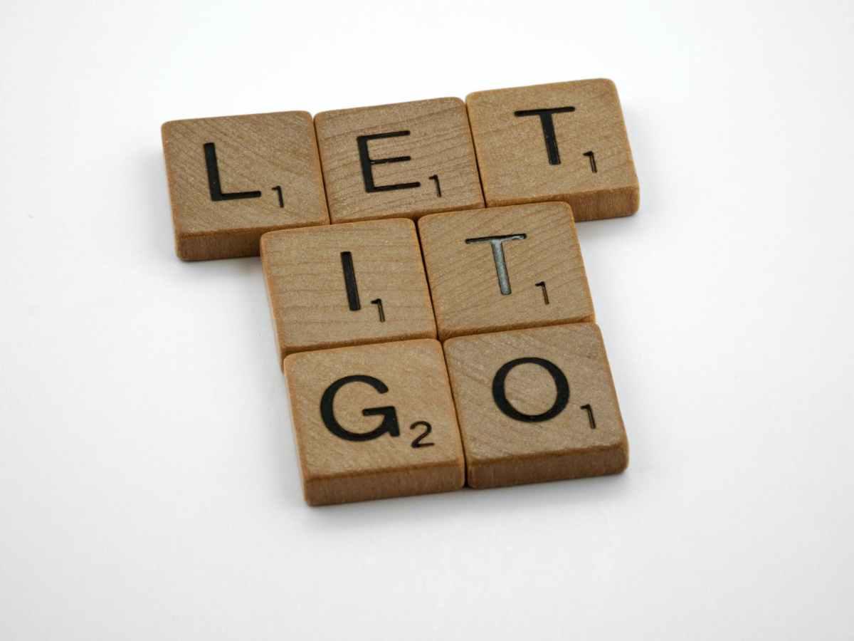 Let It Go tiles lined up @randomnestfamily.org